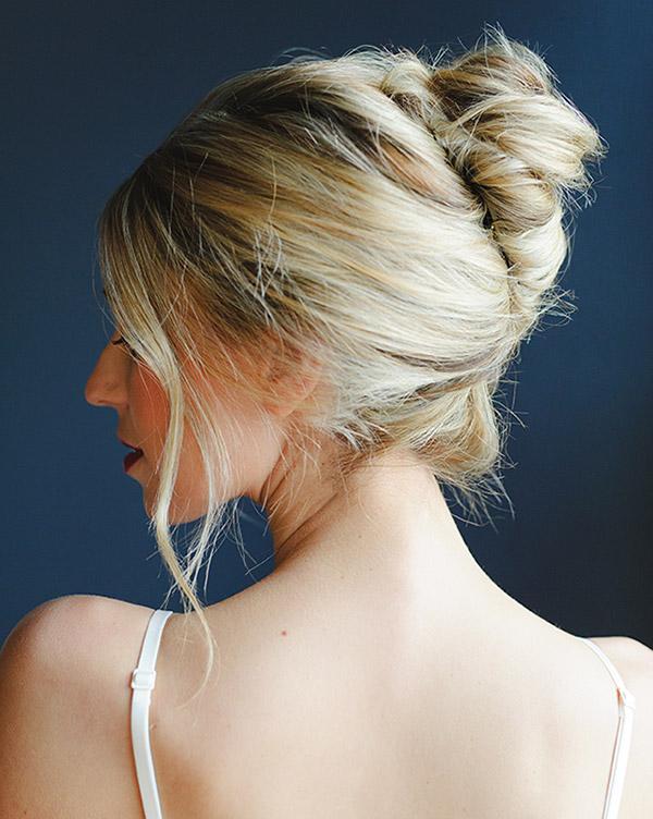 priska coiffure chignon